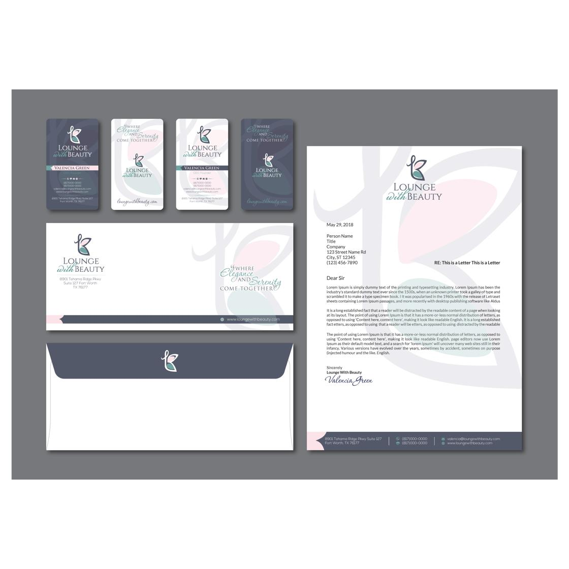 custom letterhead and stationery design by Dhir