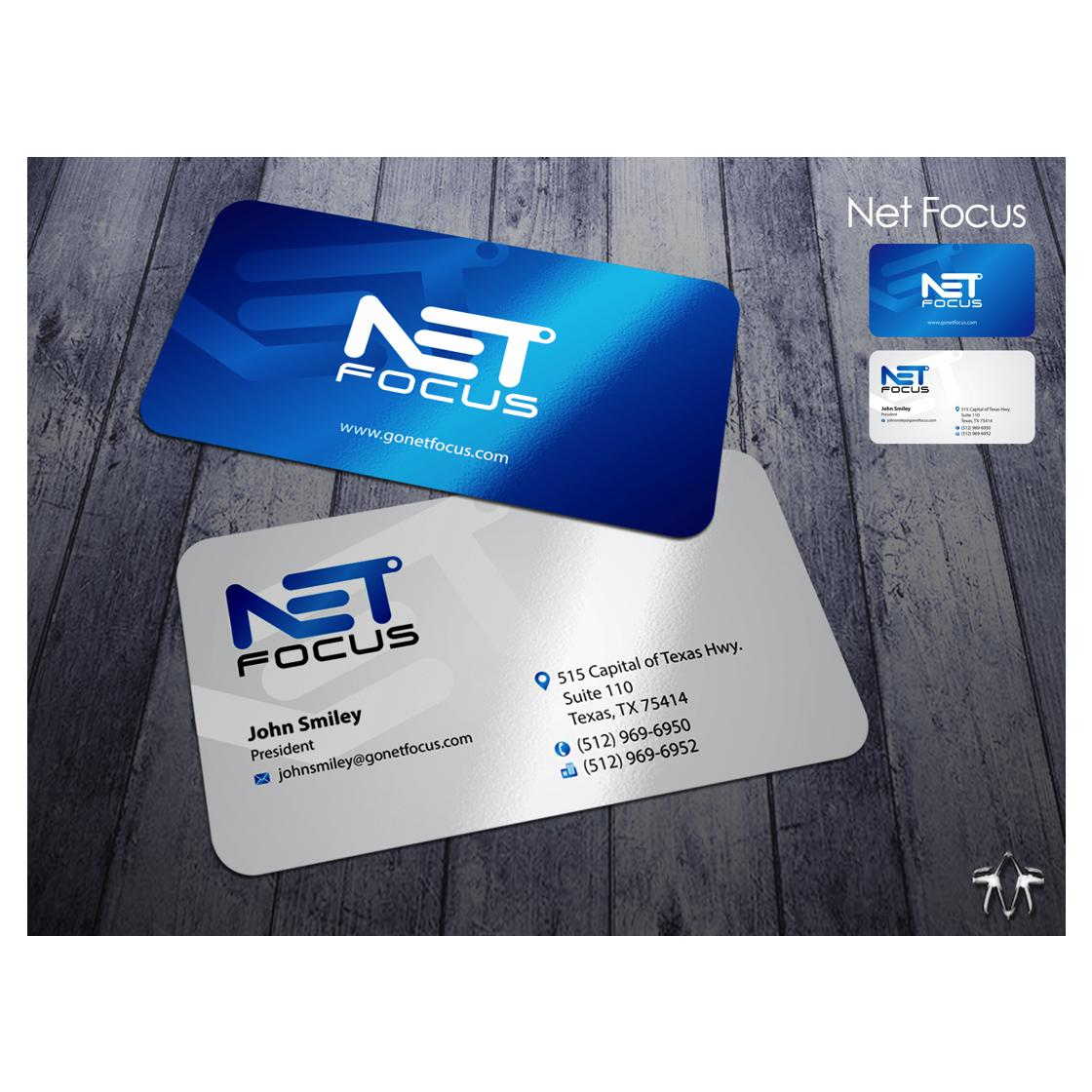 custom business card design by sadzip