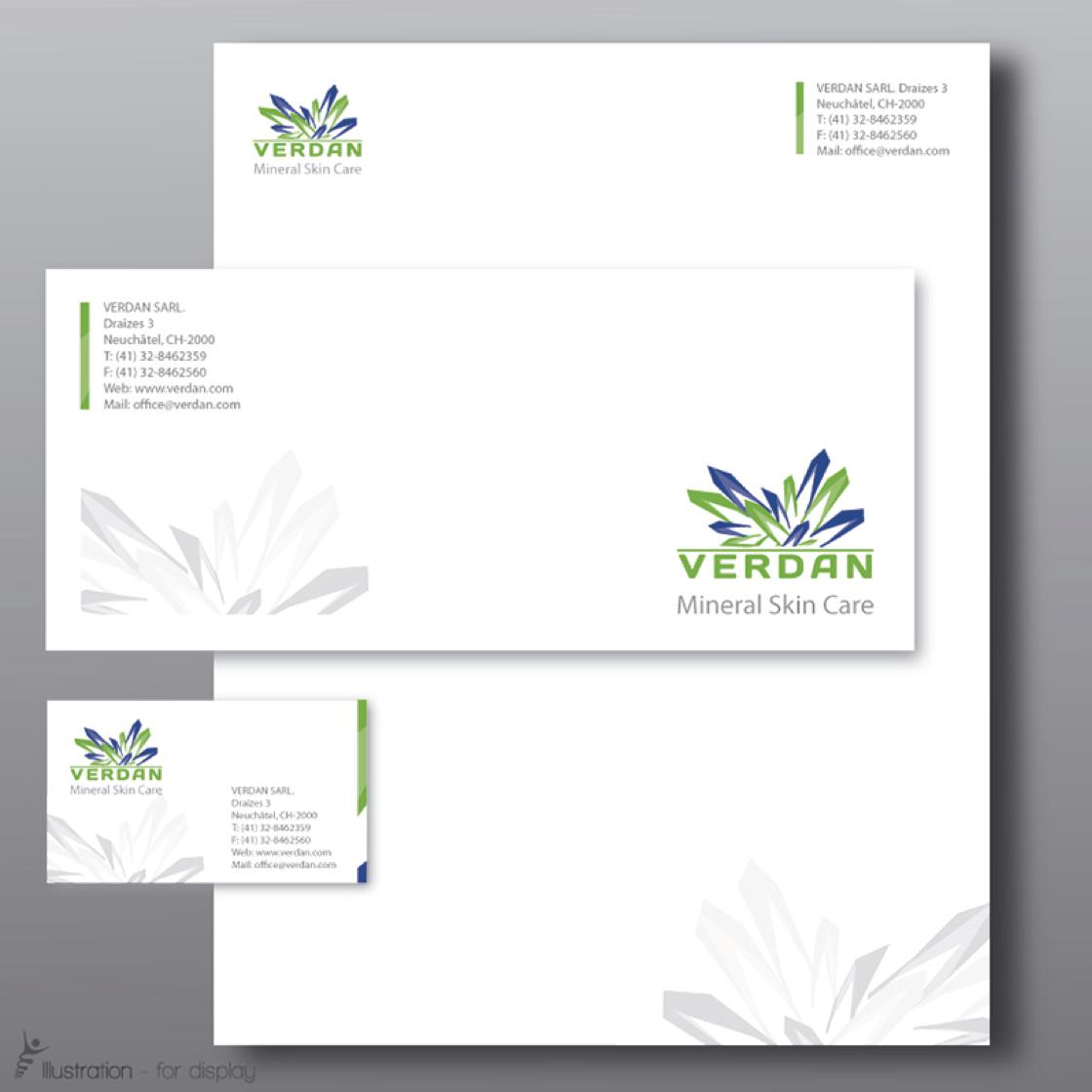 custom letterhead and stationery design by bokima