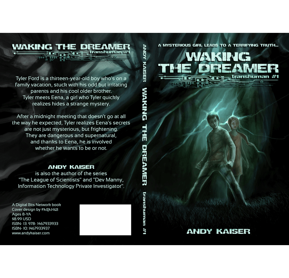 crowdspring book cover design by paganus