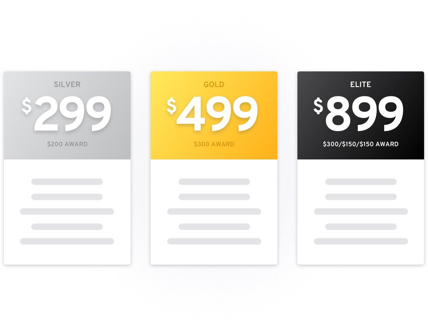 design pricing