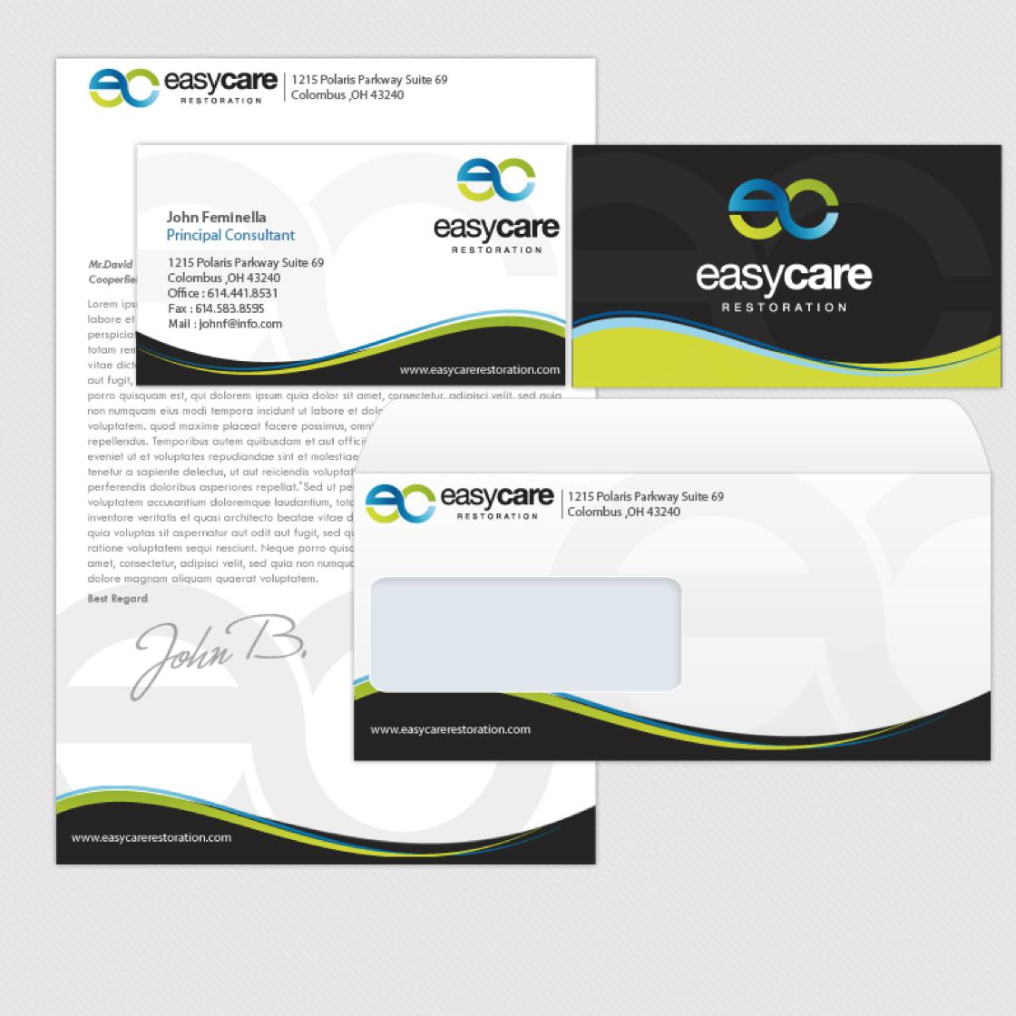 letterhead and stationery designed by smashing_bug