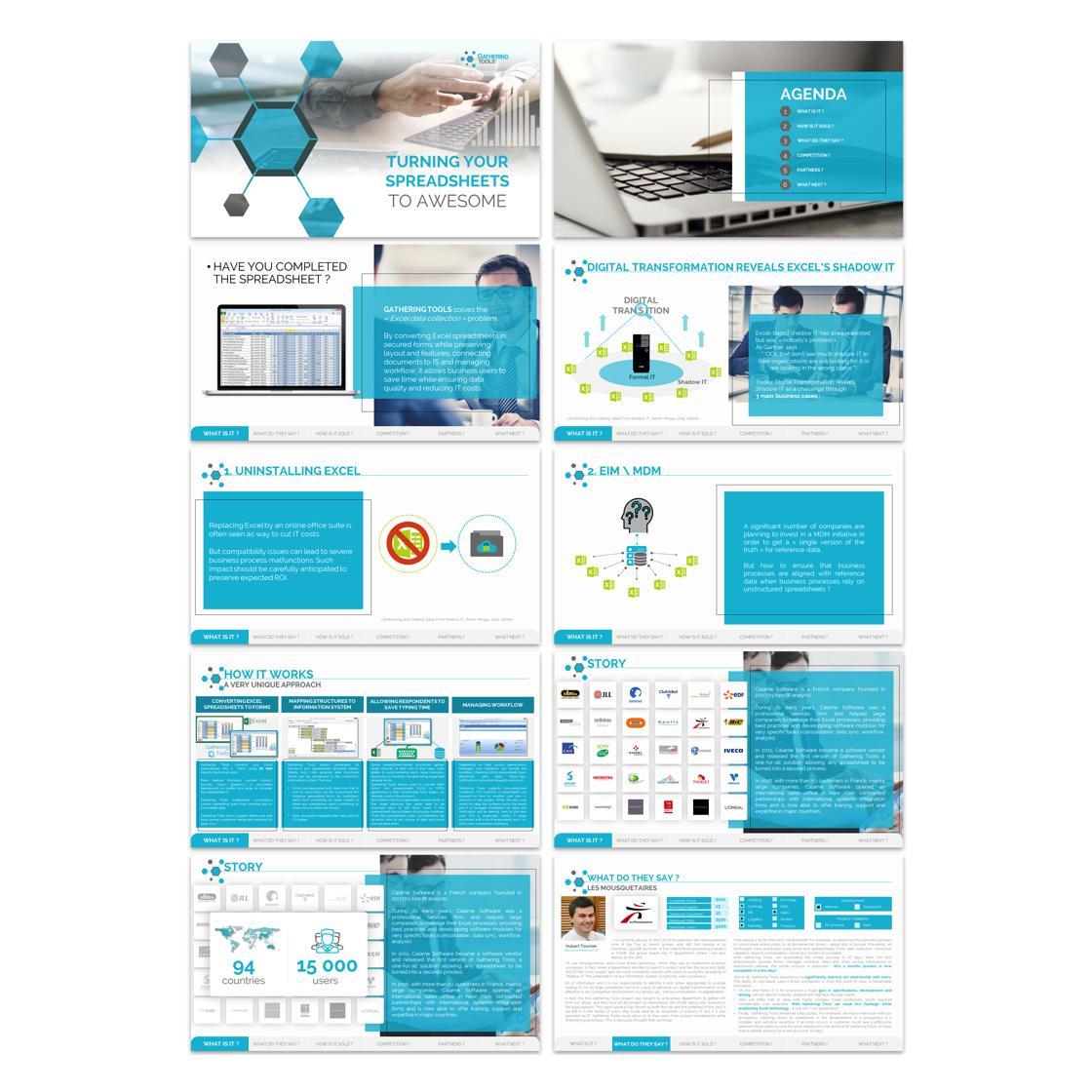 presentation designed by imazing