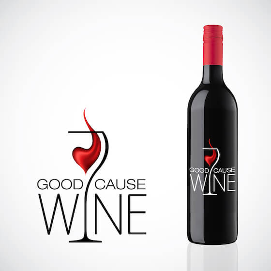 crowdspring Give Back program Good Cause Wine