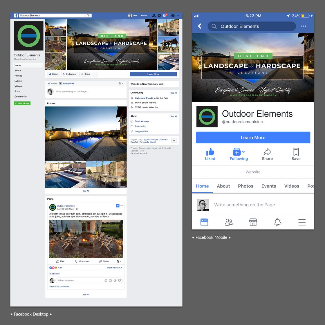 social media assets designed by MacArvy