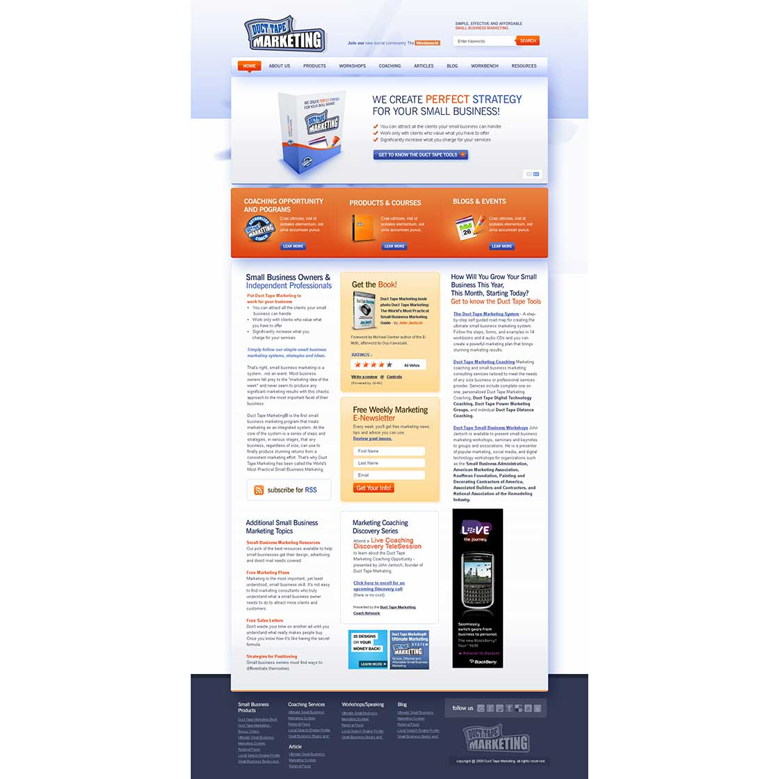 custom blog theme design by creativecube