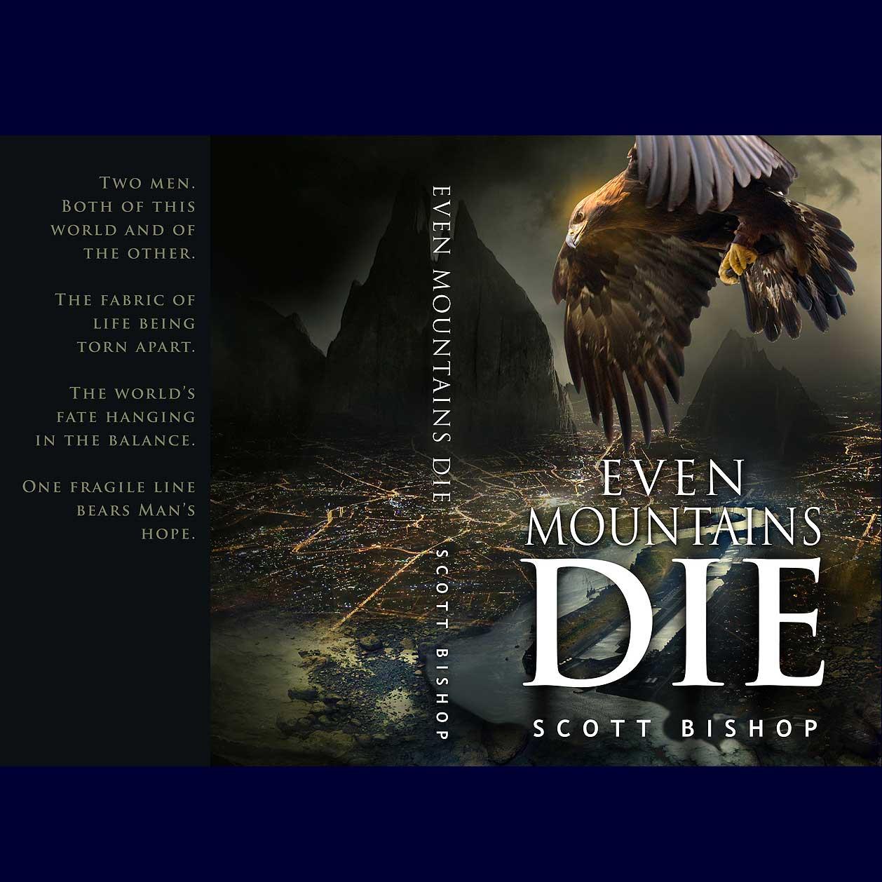 custom book cover design by faucetana