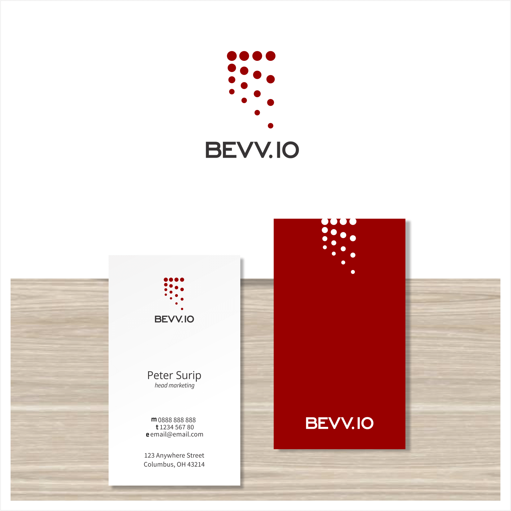 custom letterhead and stationery design by surip