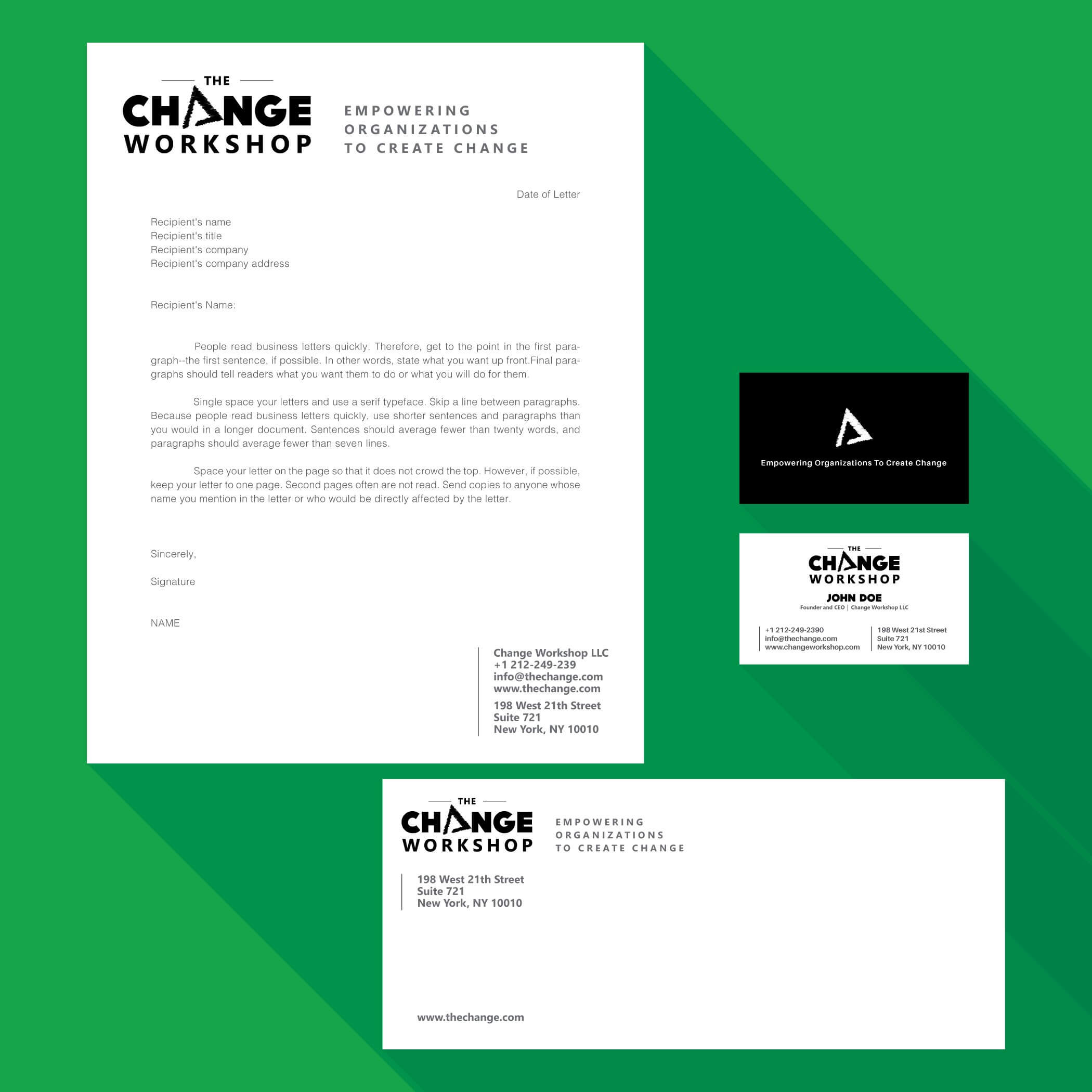 letterhead and stationery designed by niteshthapa