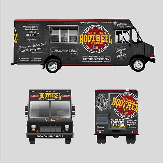 crowdspring food truck design by MACARVY