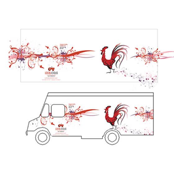 crowdspring food truck design by mithali