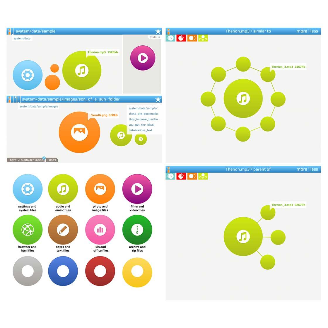 mobile UI designed by DarkFox2236