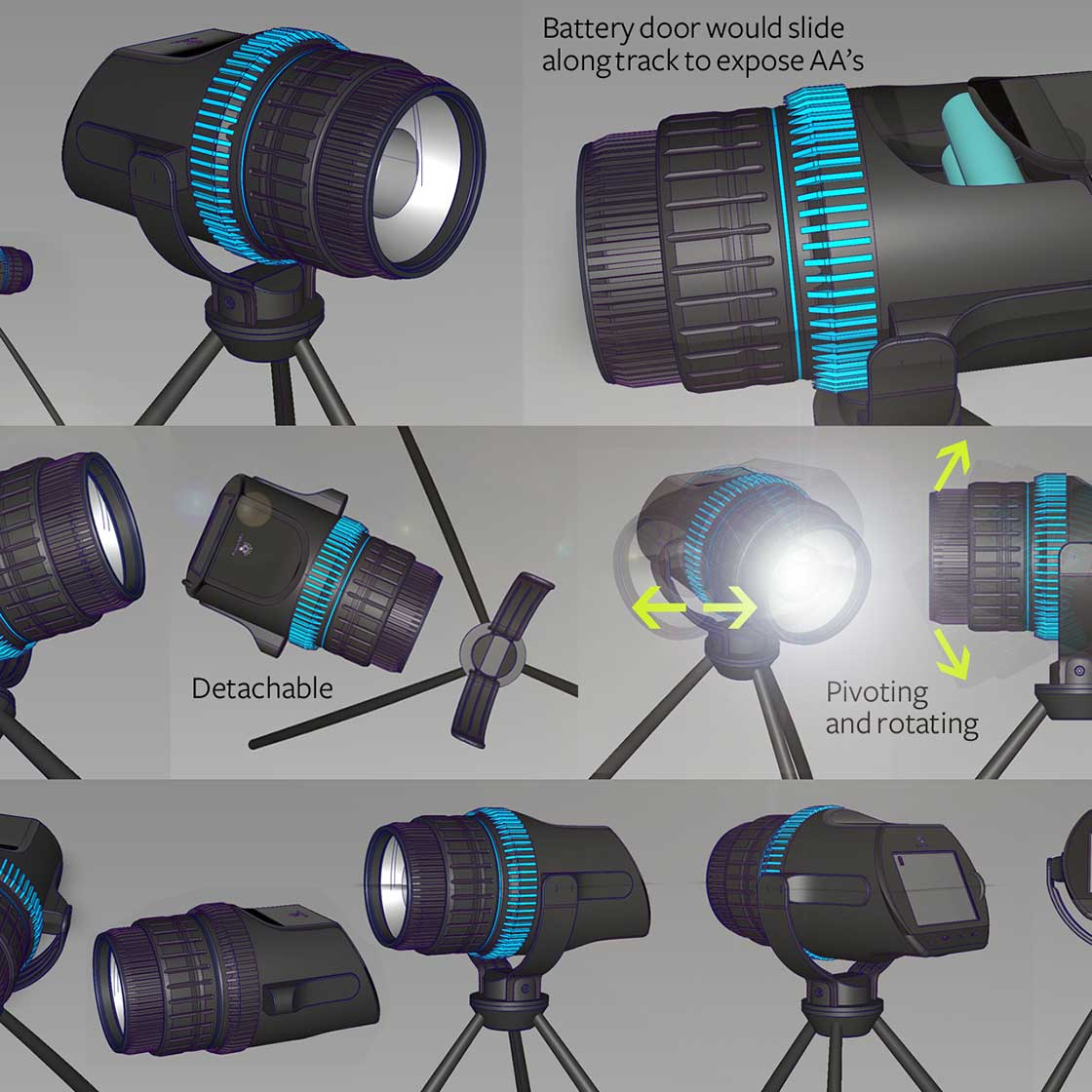 photographer light designed by charliewood