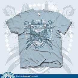 t-shirt design by BlueMonkeyDesigns