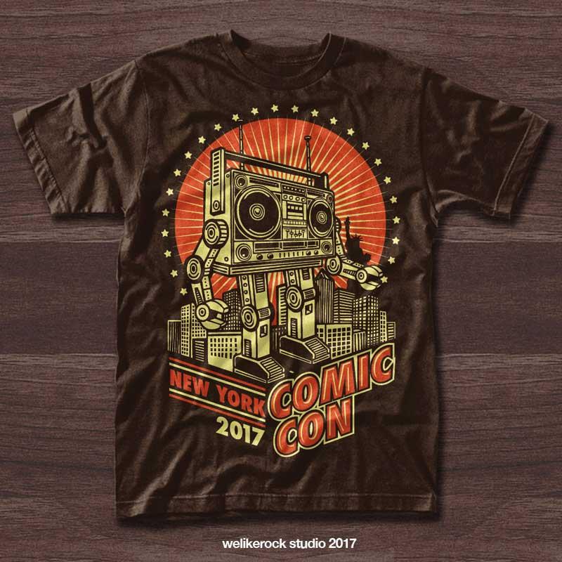 custom t-shirt design by welikerock