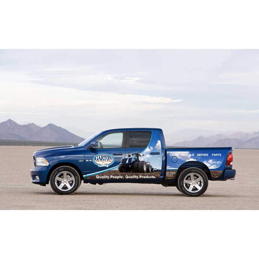 crowdspring vehicle wrap design by S_L