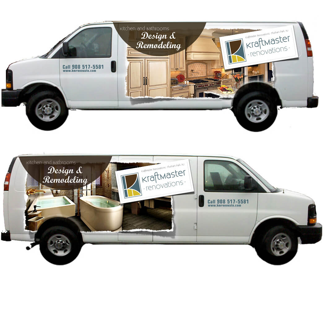 vehicle wrap designed by quancho
