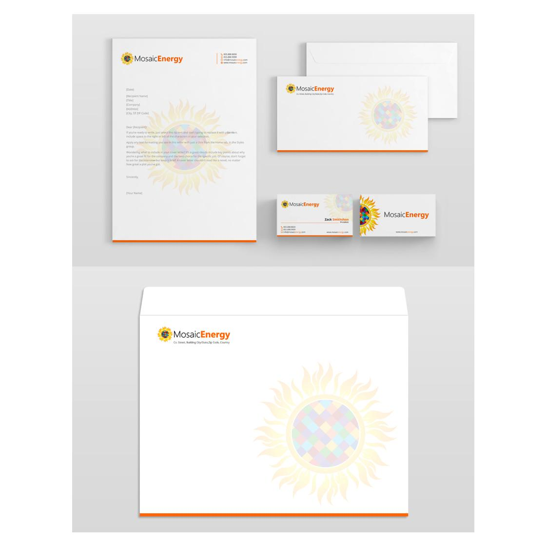 letterhead and stationery designed by AkGraphics
