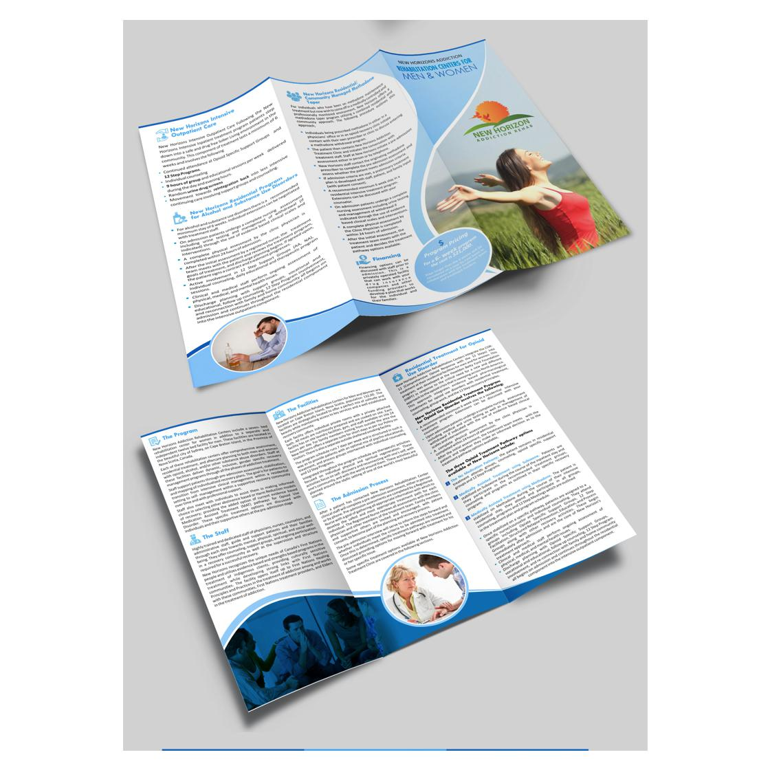 custom brochure designed by shreesparkal