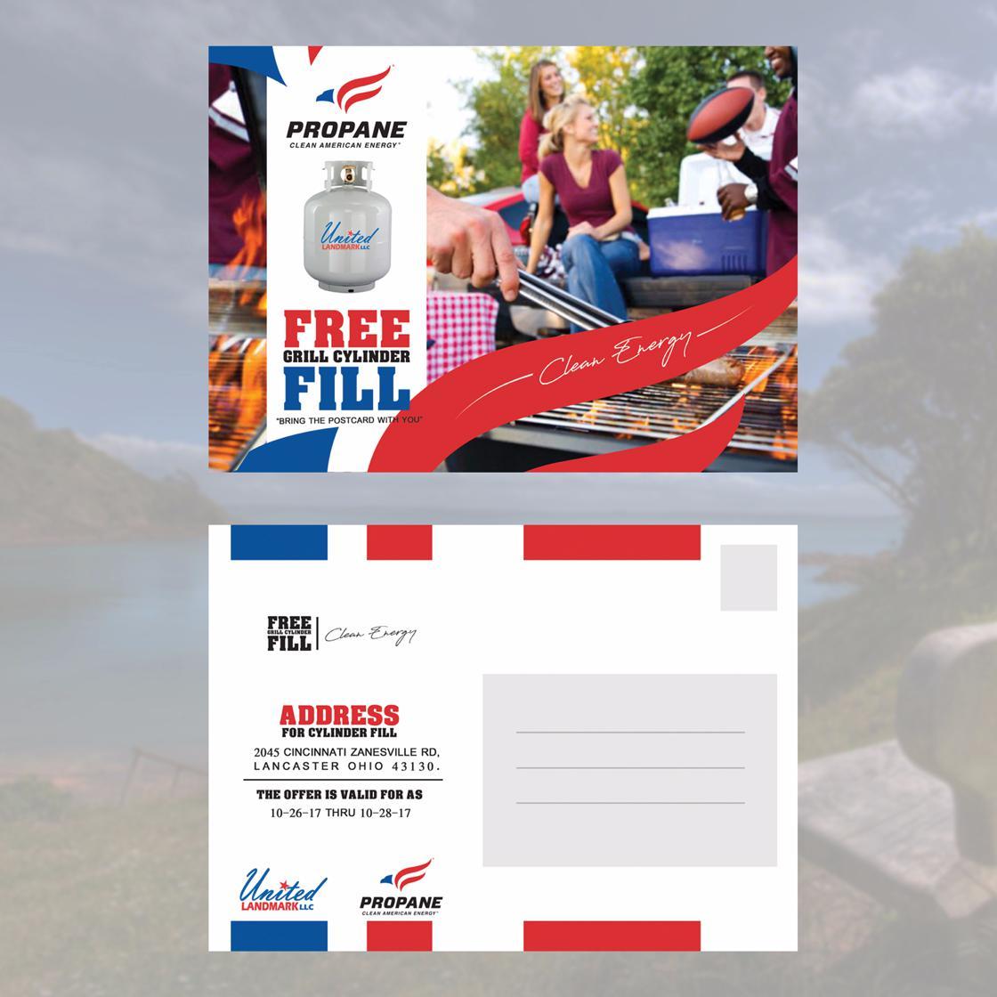custom postcard design by mazenshehab